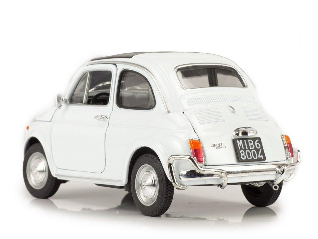 1:18 Welly FIAT 500 1957 белый