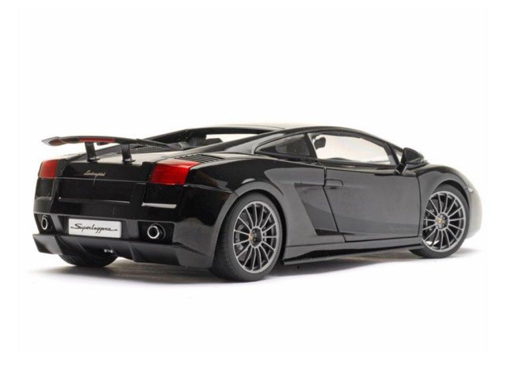 1:18 AUTOart Lamborghini Gallardo Superleggera черный металлик