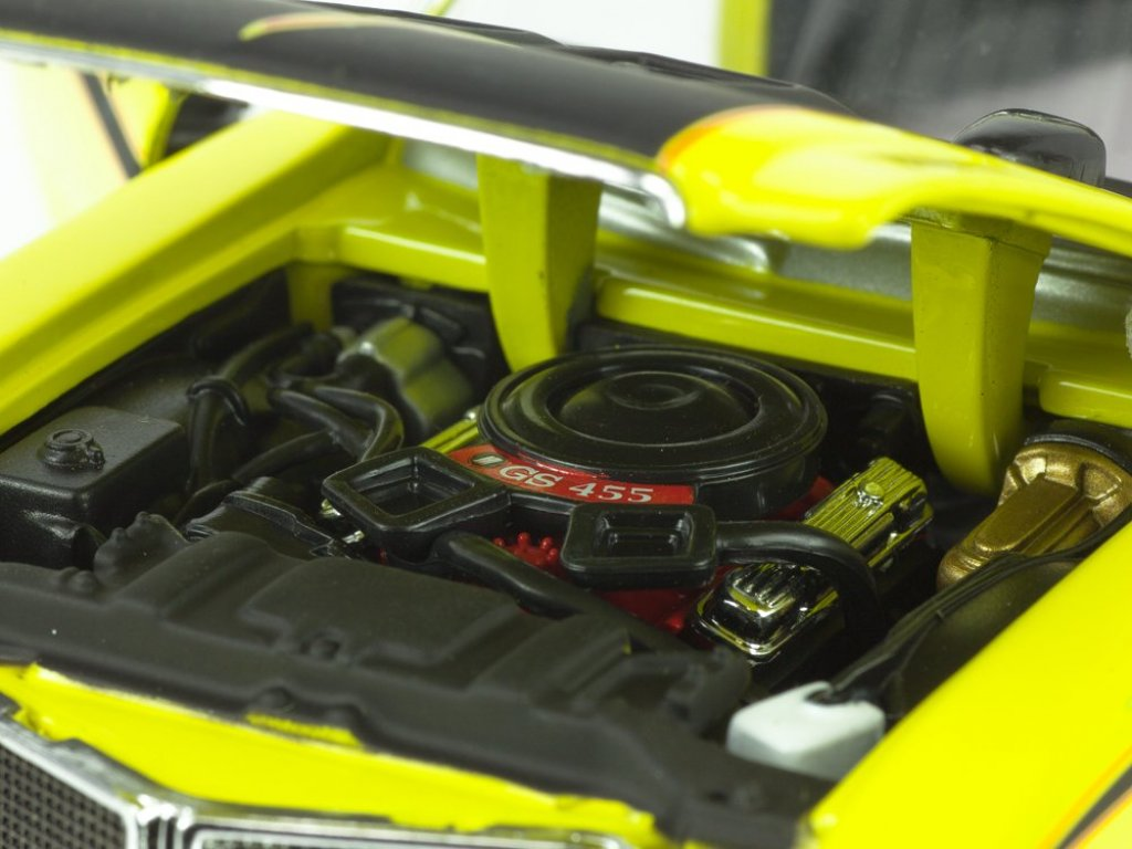 1:24 Welly Buick GSX 1970 желтый