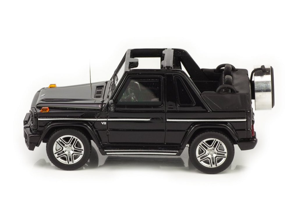 1:43 GLM Mercedes-Benz G63 AMG (W463) Кабриолет (открытый) 2012 черный