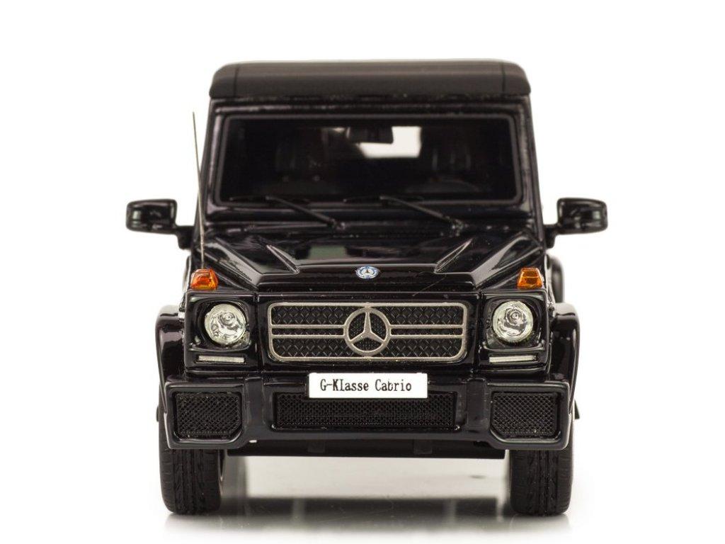 1:43 GLM Mercedes-Benz G63 AMG (W463) Кабриолет (закрытый) 2012 черный
