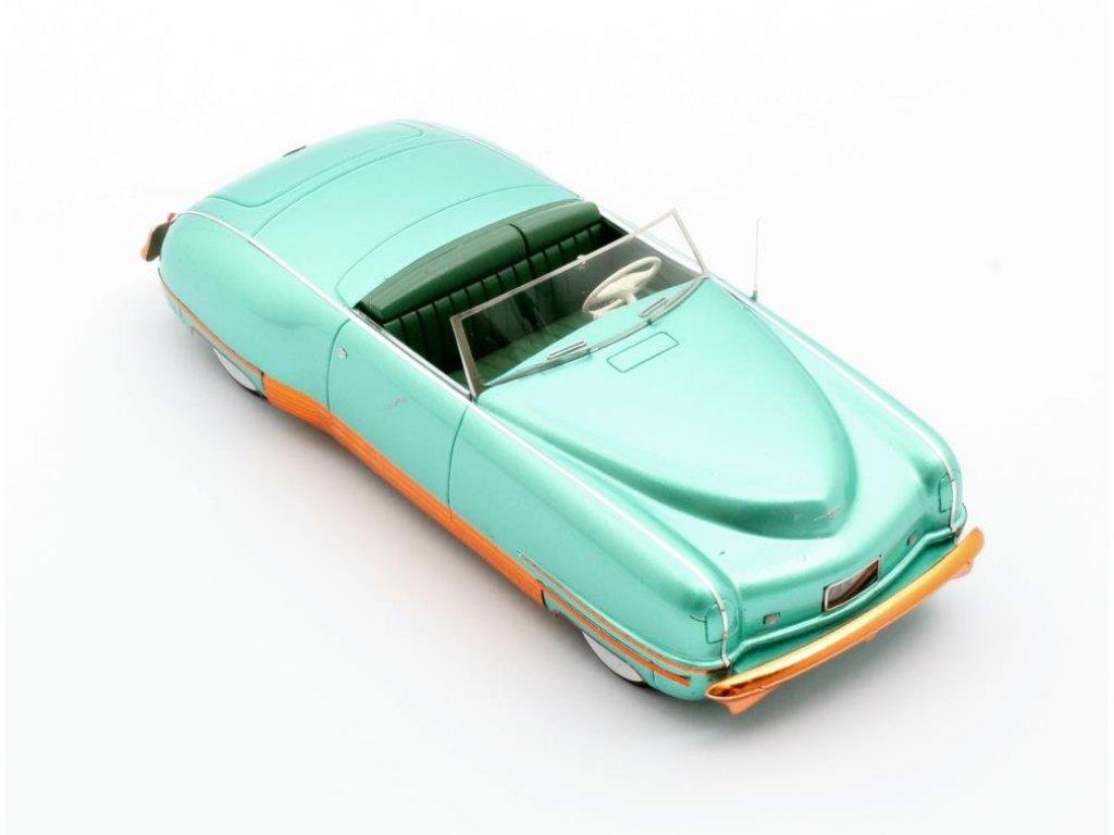 1:43 Matrix Chrysler Thunderbolt Concept LeBaron (открытый) 1941 зеленый металлик с оранжевым