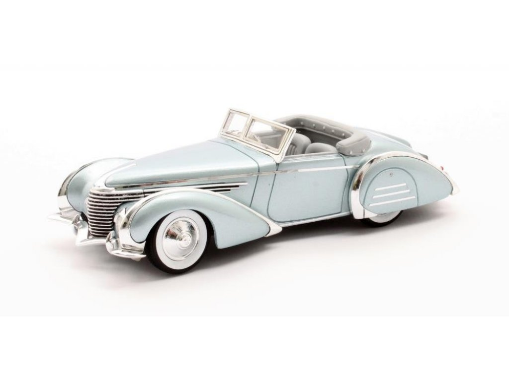 1:43 Matrix Delahaye 145 V12 Franay кабриолет #48772-3 1937 голубой металлик