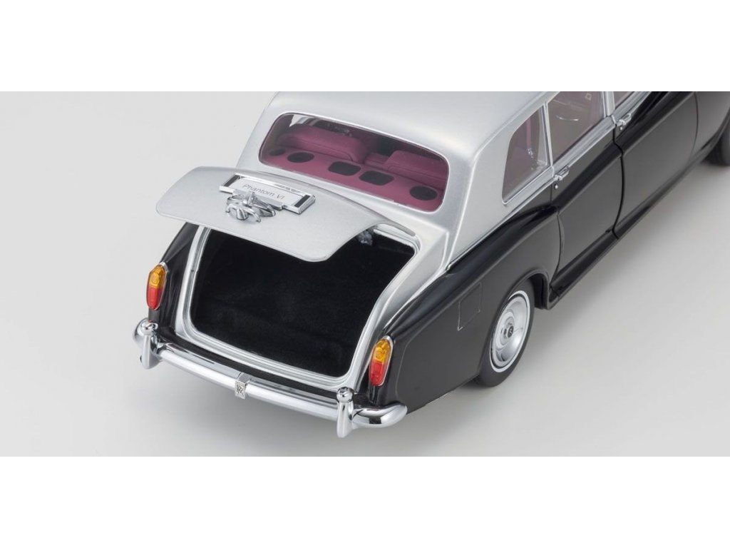 1:18 Kyosho Rolls-Royce Phantom VI черный с серебристым