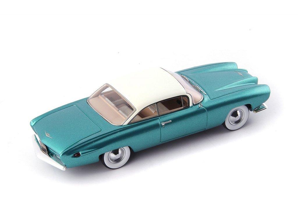 1:43 AutoCult Cadillac Coupe de Ville 1959 зеленый