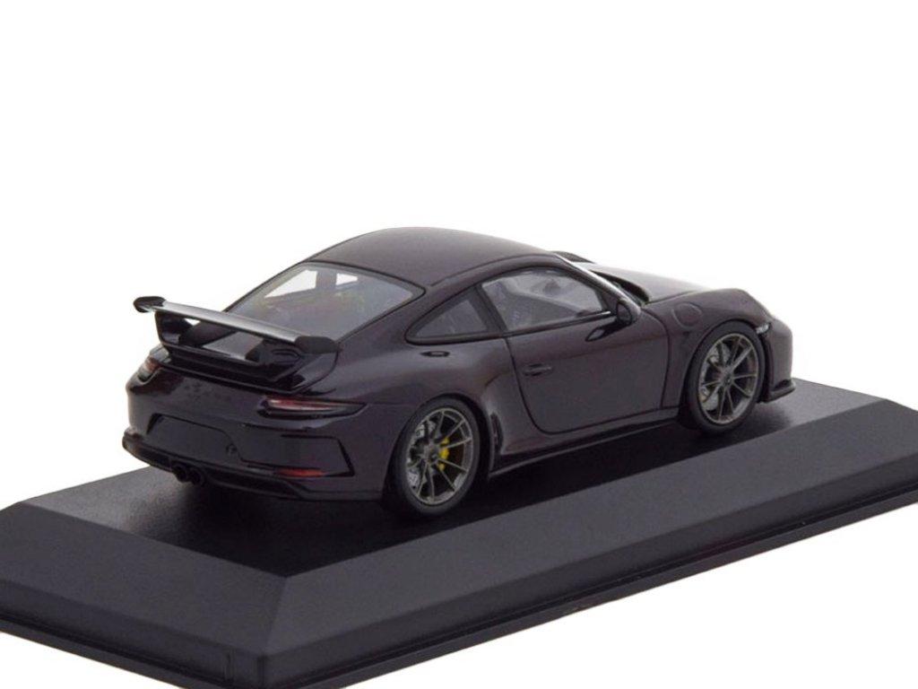 1:43 Minichamps Porsche 911 GT3 2017 пурпурный металлик