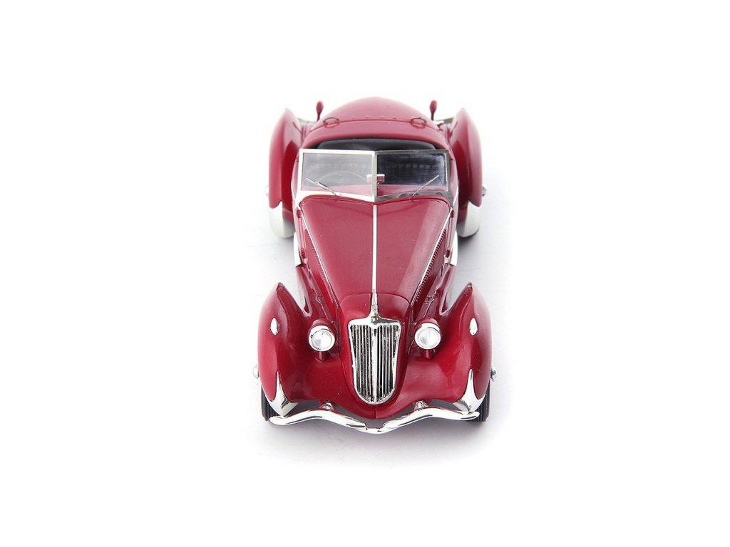 1:43 AutoCult Amilcar G36 Pegase Grand Prix Roadster 1935 красный