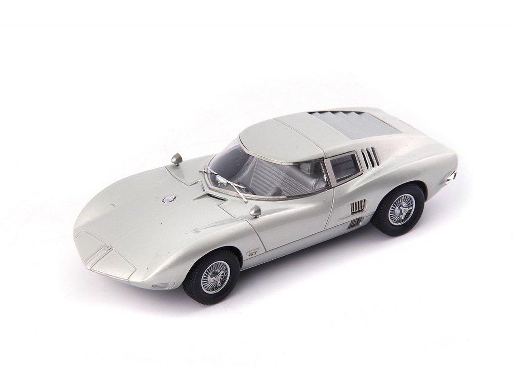 1:43 AutoCult Chevrolet Corvair Monza GT серебристый