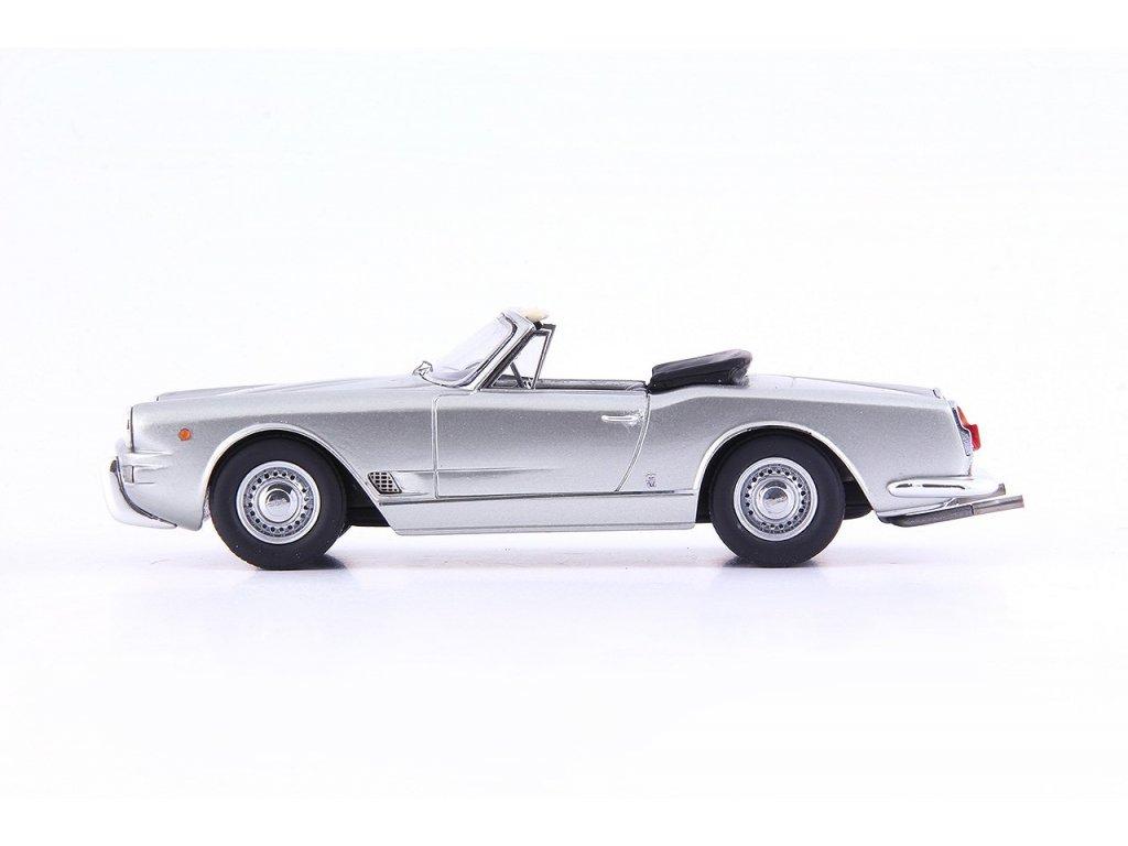 1:43 AutoCult Maserati 3500 GT Special Spyder Vignale кабриолет серебристый