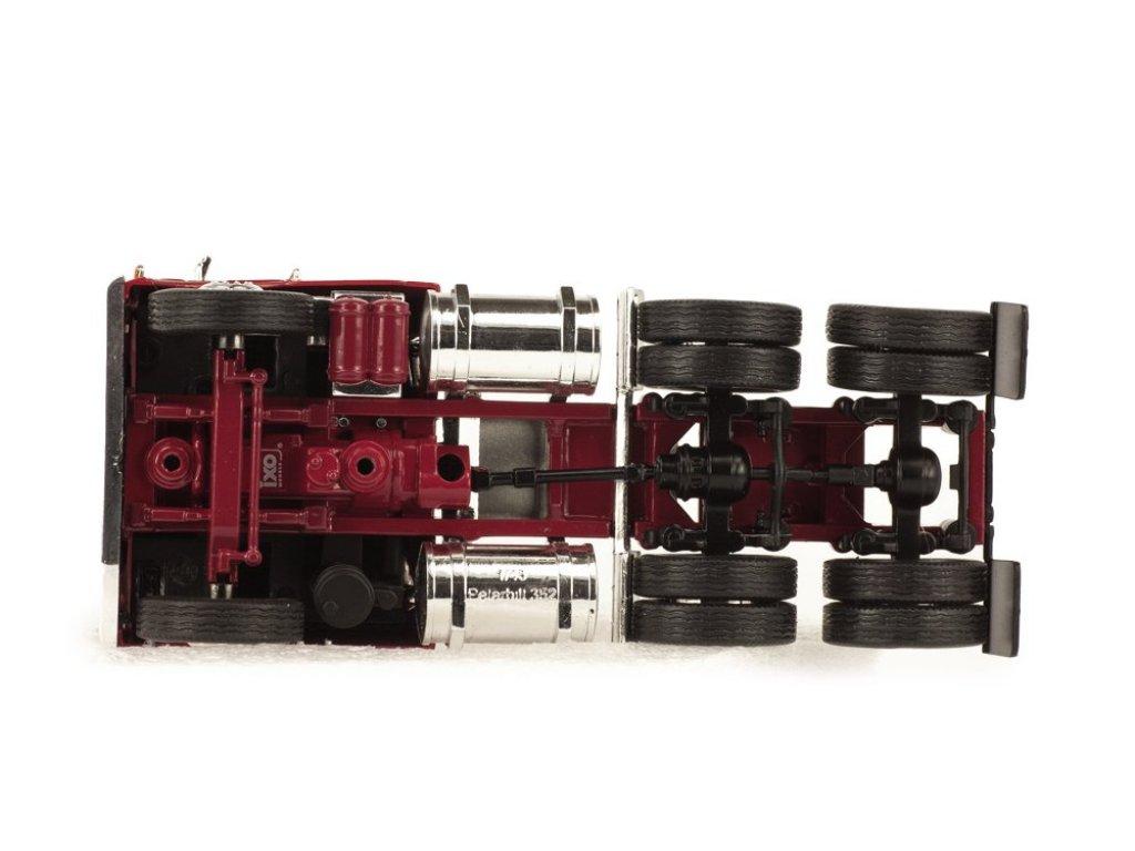 1:43 IXO Peterbilt 352 Pacemaker седельный тягач 1979 бордовый с серебристым