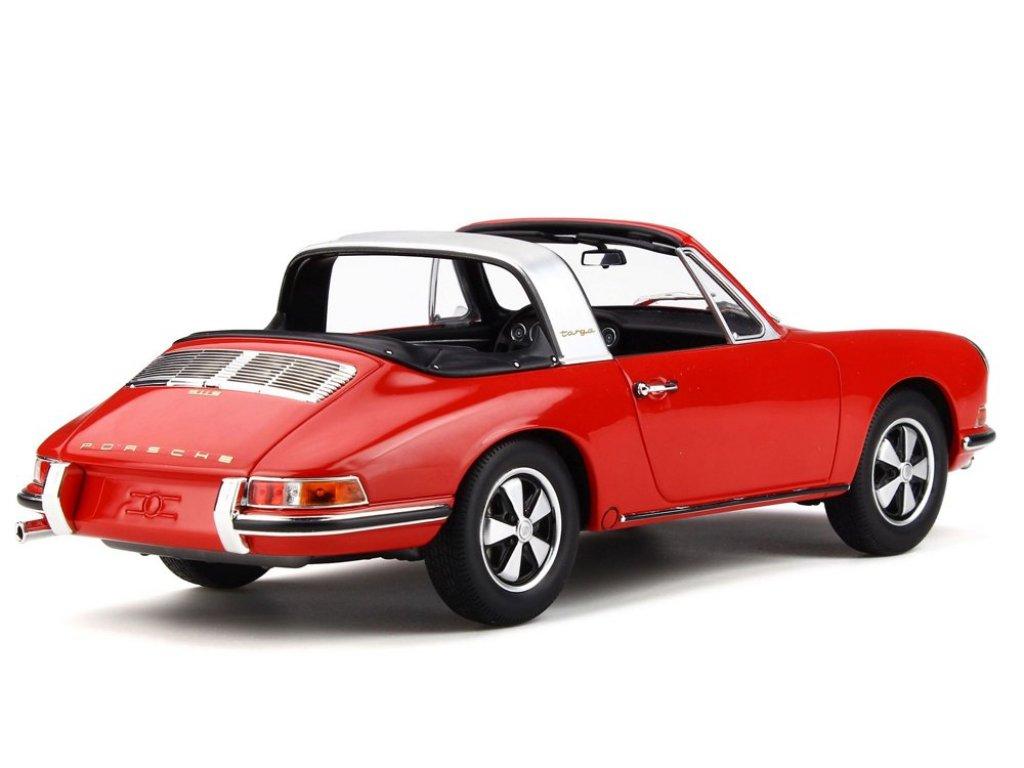 1:18 GT Spirit Porsche 911 Targa красный