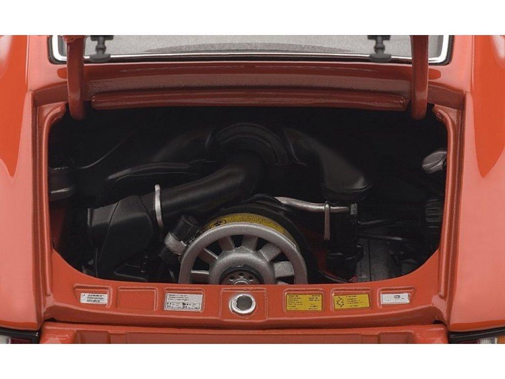 1:18 AUTOart Porsche 911 Carrera RS 2.7 1973 оранжевый с черными полосками