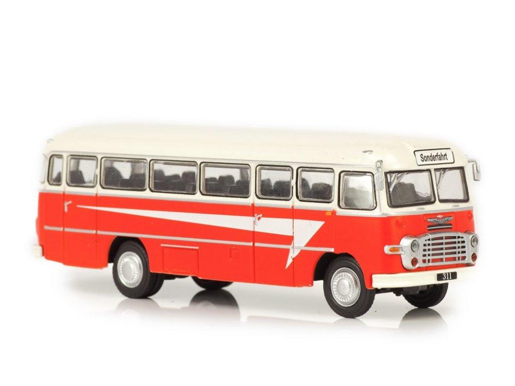 1:72 Atlas Ikarus 311 1960 красный с белым