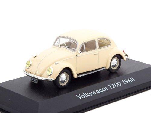 1:43 Atlas Volkswagen 1200 Beetle 1960 бежевый
