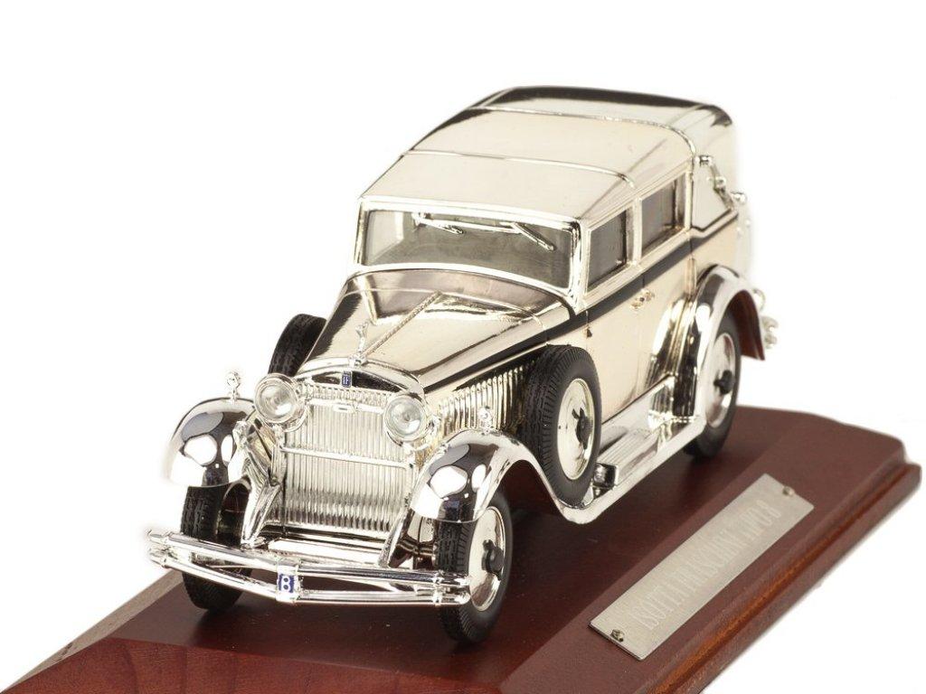 1:43 Atlas Isotta Fraschini Tipo 8 1930 хромированный