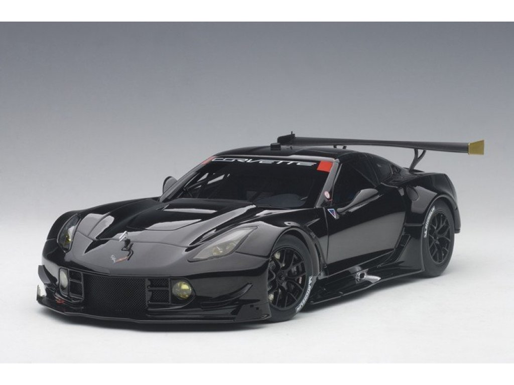 1:18 AUTOart Chevrolet Corvette C7.R глянцевый черный