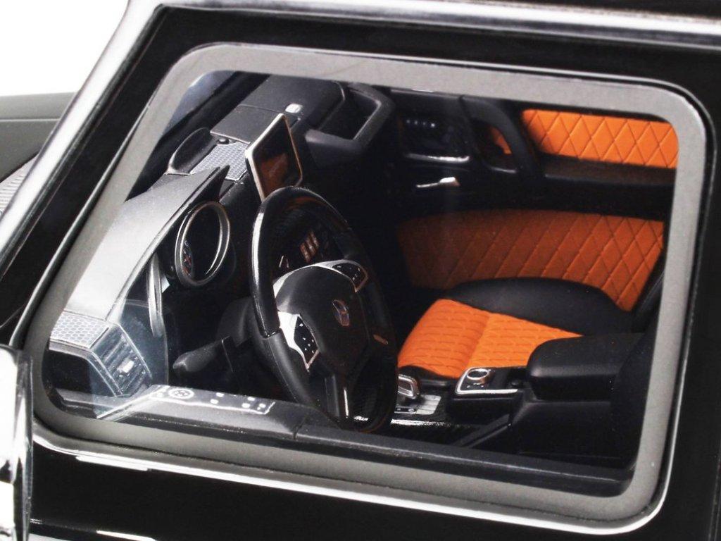 1:12 GT Spirit Mercedes-AMG G65 V12 2017 W463 черный металлик