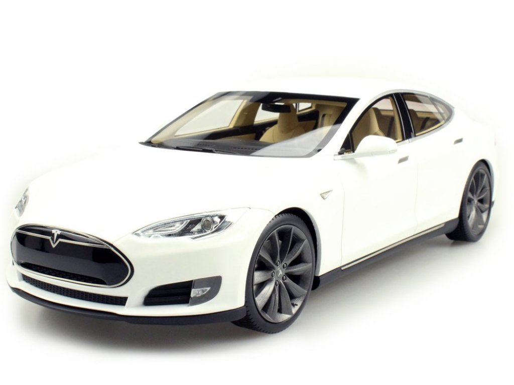 1:18 LS Collectibles Tesla Model S 2012 белый