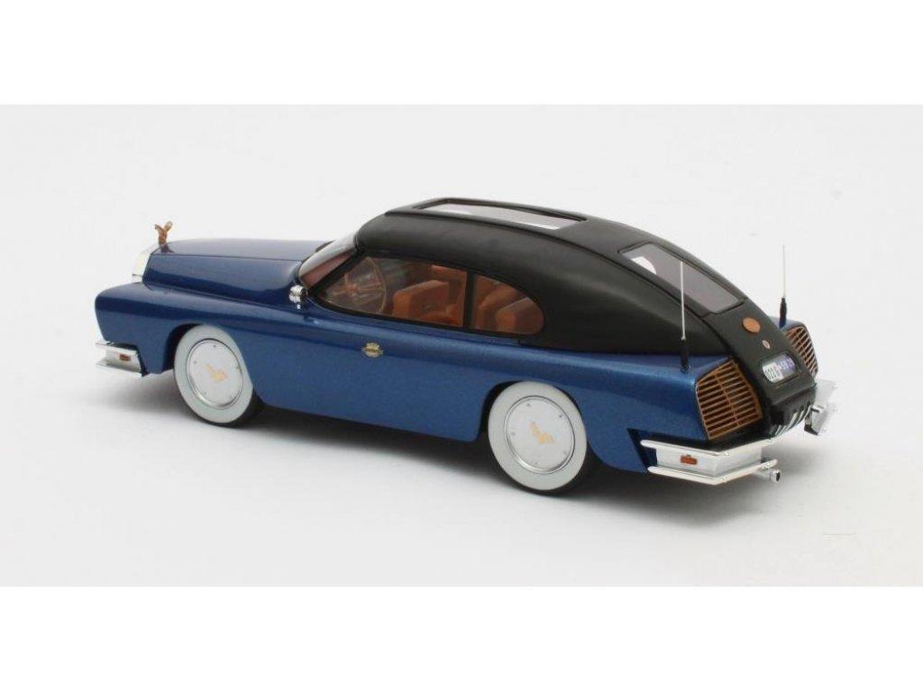 1:43 Matrix Mohs Ostentatienne Opera Sedan 1967 синий с черным верхом