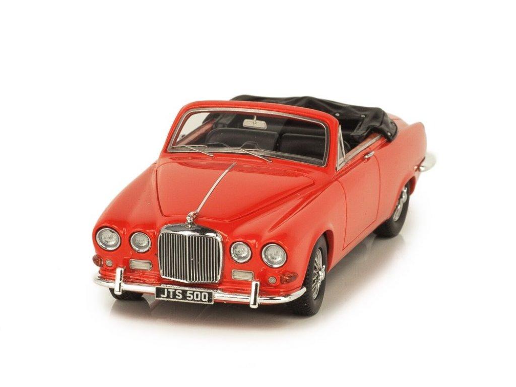 1:43 Matrix Jaguar 420 Harold Radford Convertible 1967 красный с черным салоном