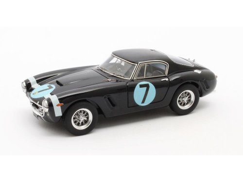 1:43 Matrix Ferrari 250GT Passo Corto Победитель RAC Tourist Trophy Moss #7 1961 синий