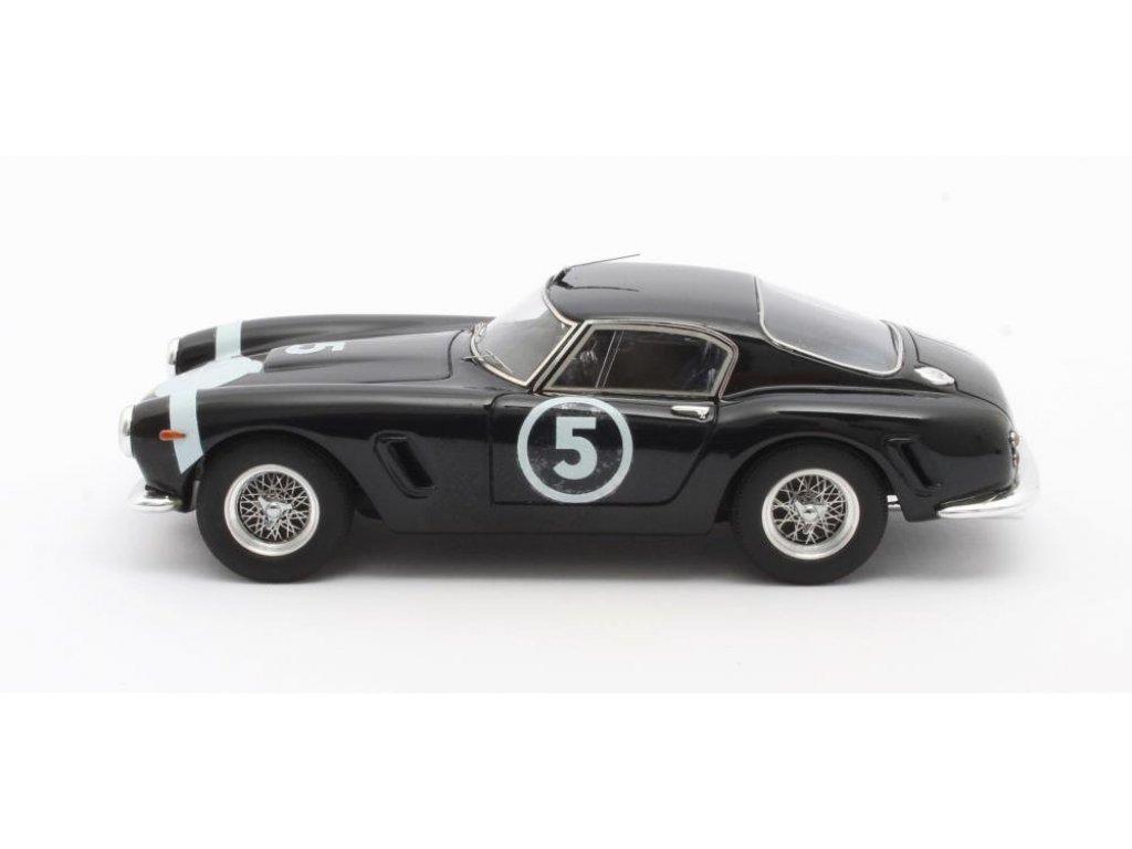 1:43 Matrix Ferrari 250GT Passo Corto Победитель Nassau Tourist Trophy Moss #5 1960 синий
