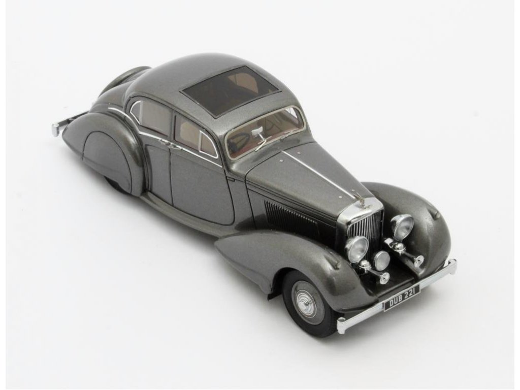 1:43 Matrix Bentley 4.25 litre Pillarless Saloon Carlton 1937 серый металлик