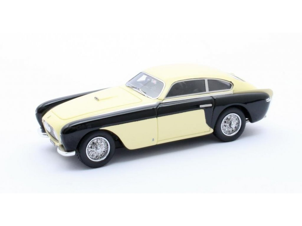 1:43 Matrix Ferrari 212 Inter Coupe Bumblebee Vignale #0197EL 1952 черный с бежевым