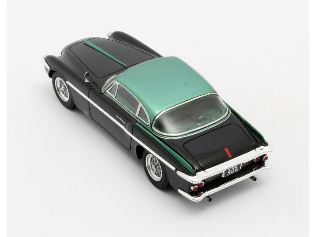 1:43 Matrix Ferrari 212 Inter Coupe Vignale 1953 черный с зеленым