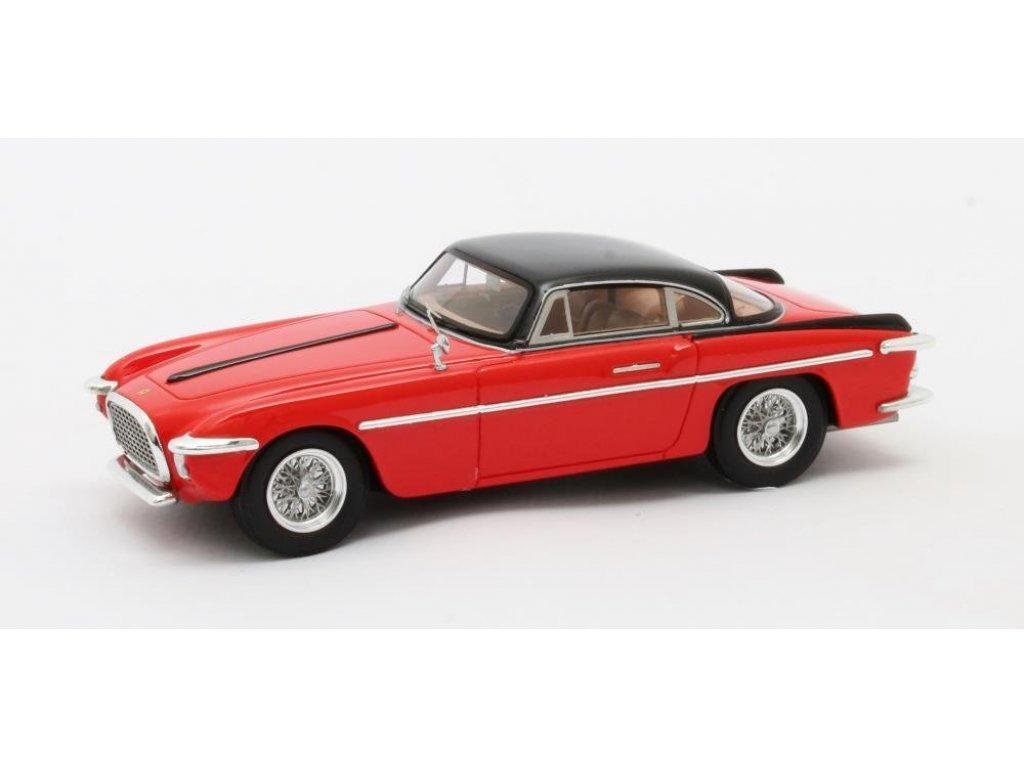 1:43 Matrix Ferrari 212 Inter Coupe Vignale 1953 красный с черным