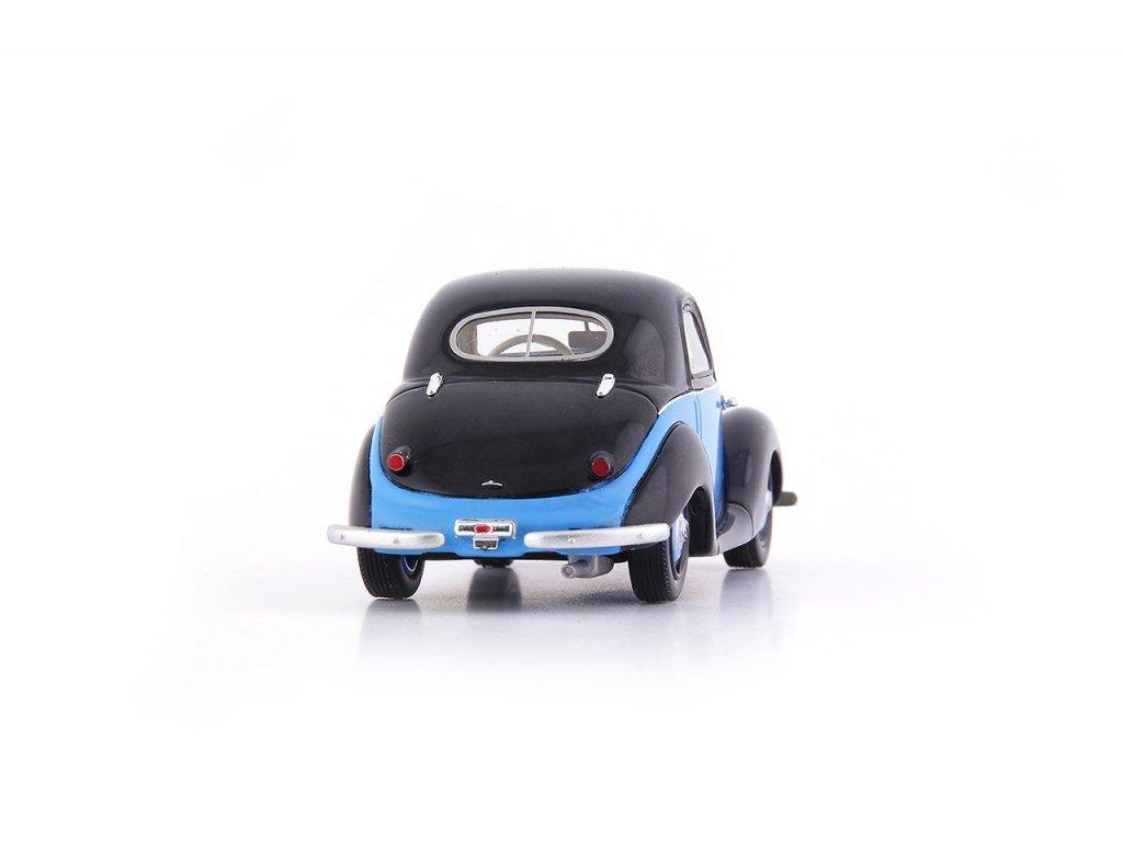 1:43 AutoCult BMW 531 Германия 1951 черный с синим