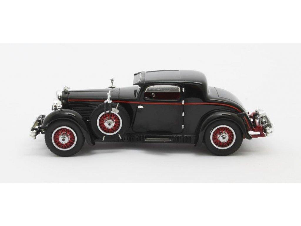 1:43 Matrix Stutz Model M Supercharged Lancefield Coupe 1930 черный