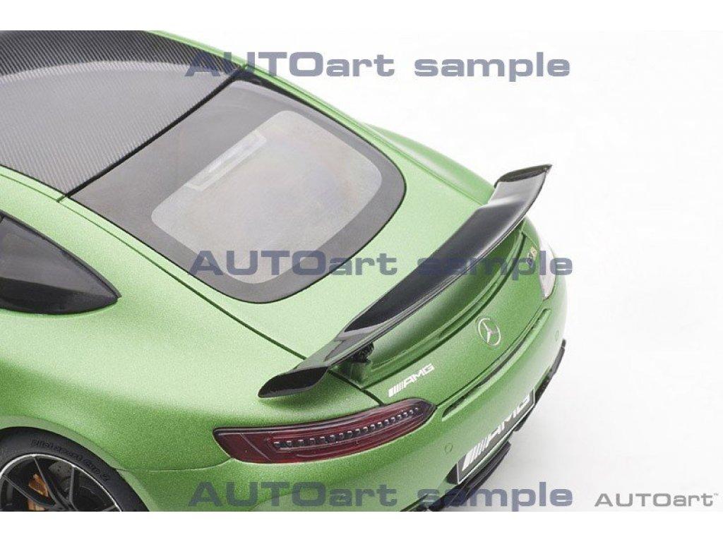 1:18 AUTOart Mercedes-AMG GT-R C190 V8 Biturbo 2017 матовый зеленый металлик