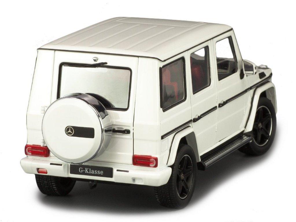 1:18 I-Scale Mercedes-Benz G-klasse (W463) 2015 белый