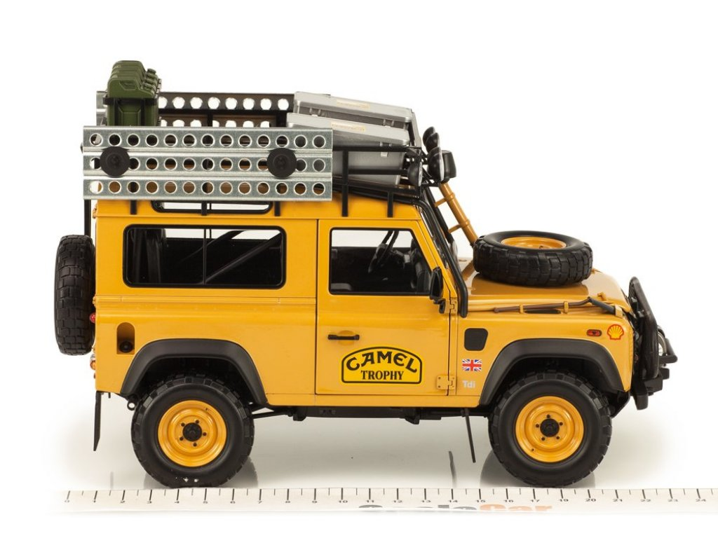 1:18 Almost Real Land Rover Defender 90 Camel Trophy Edition
