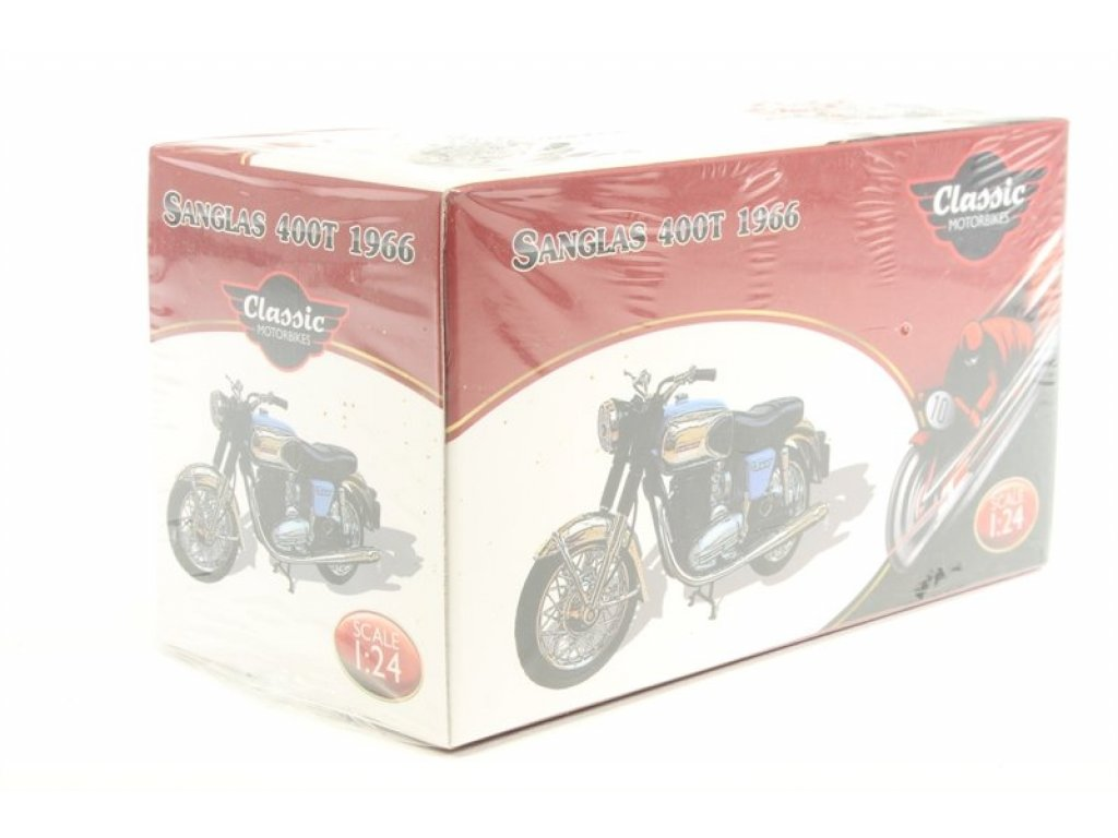 1:24 Atlas мотоцикл Sanglas 400T 1966 синий