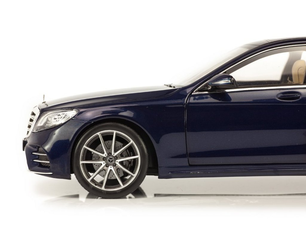 1:18 Norev Mercedes-Benz S-Class AMG-styling V222 (W222) 2018 синий металлик
