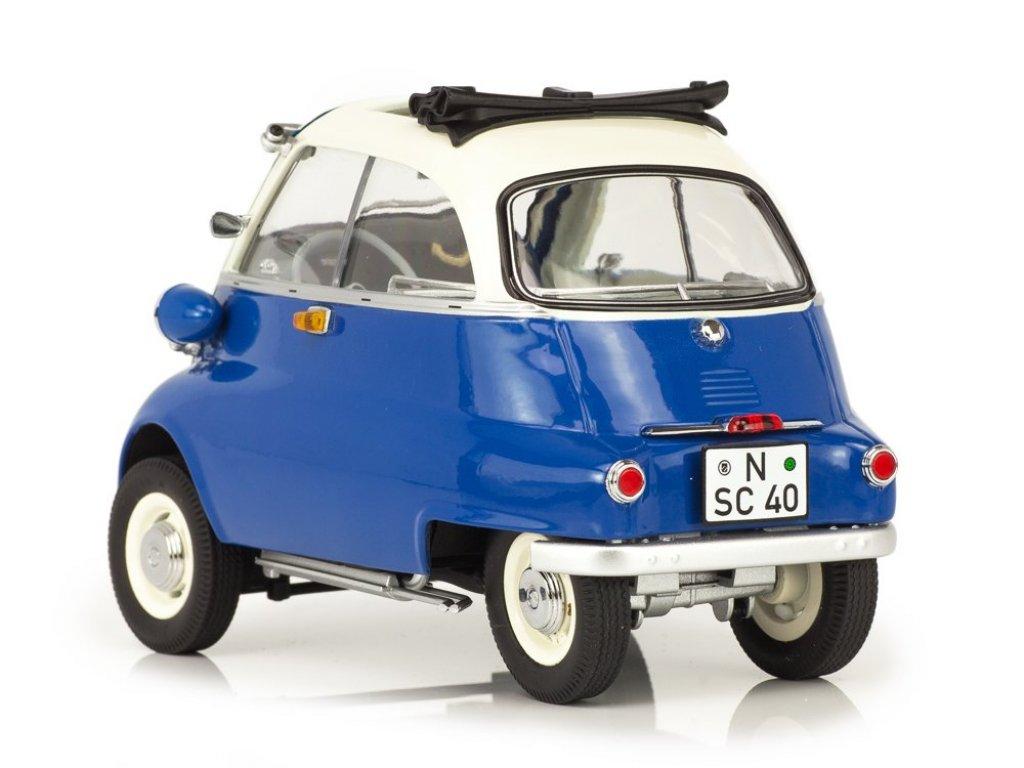 1:18 Schuco BMW Isetta Export 1955 синий с бежевым