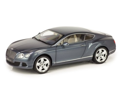 1:18 Minichamps Bentley Continental GT 2011 серо-синий металлик