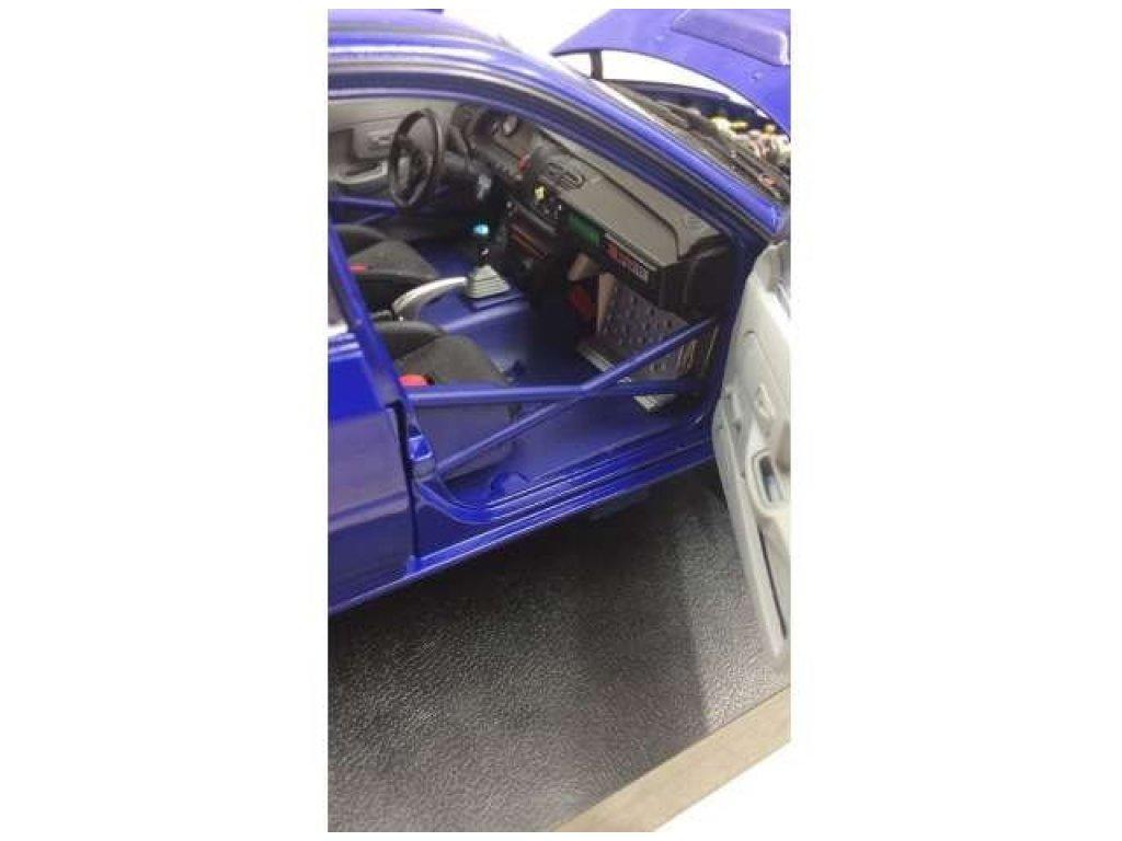 1:18 Sunstar Subaru Impreza WRX STI Street Legal 1996 синий