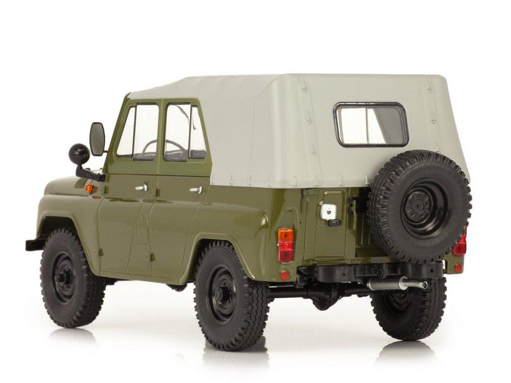 1:18 Start Scale Models УАЗ-469 (31512) хаки