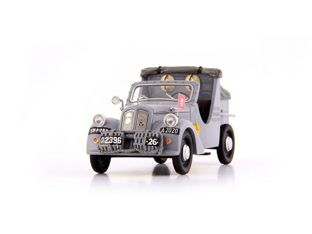 1:43 AutoCult Steyr 100 Asien Steyr Austria 1934 серый