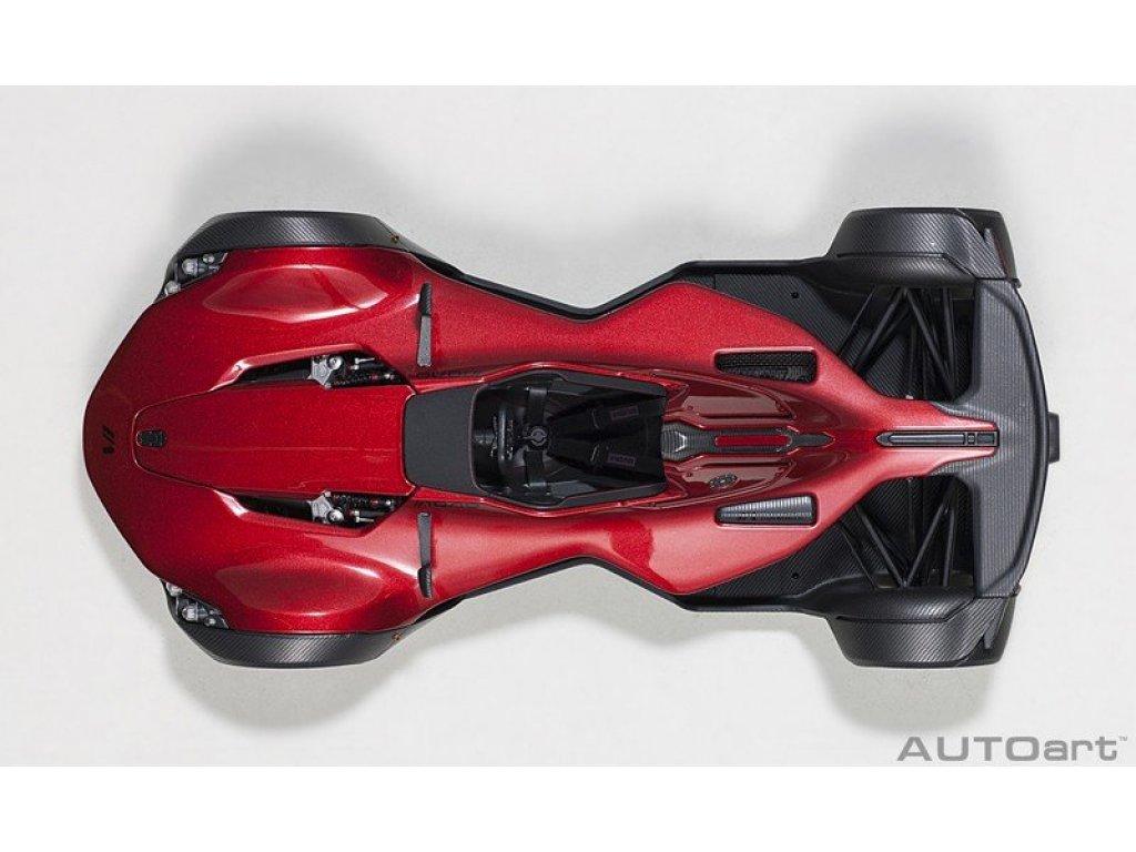 1:18 AUTOart BAC Mono 2011 красный металлик