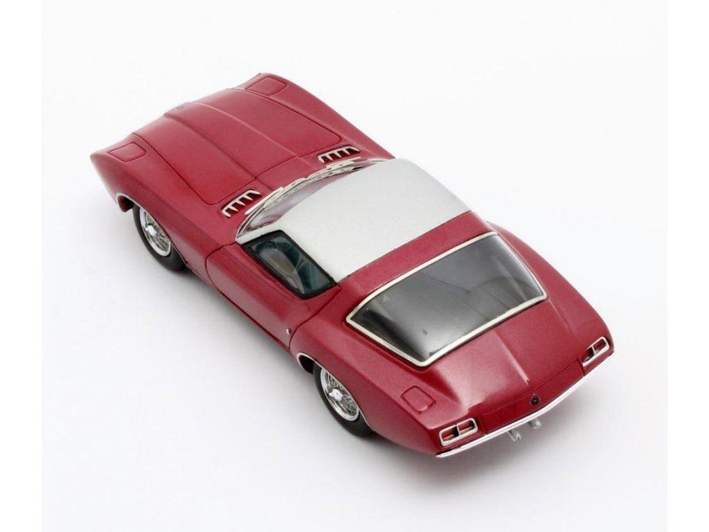 1:43 Matrix Ford Cougar II Concept #CSX2008 1963 красный металлик