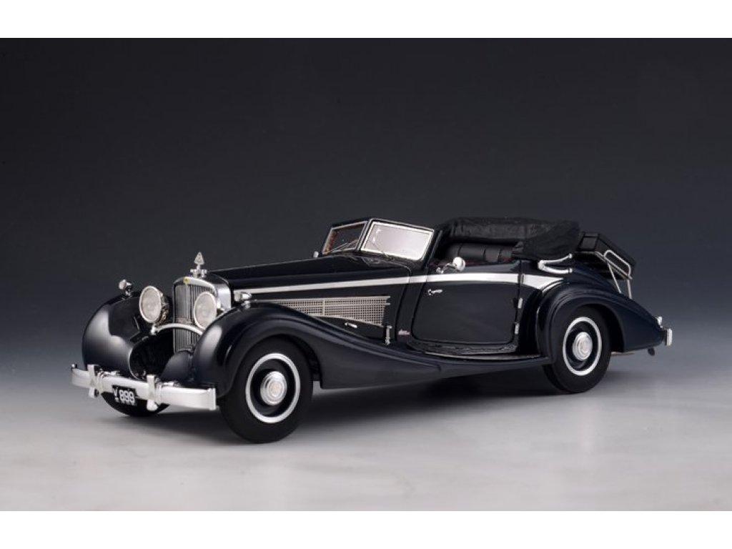 1:43 GLM Maybach DS-8 Zeppelin Cabriolet (открытый) 1933 черный