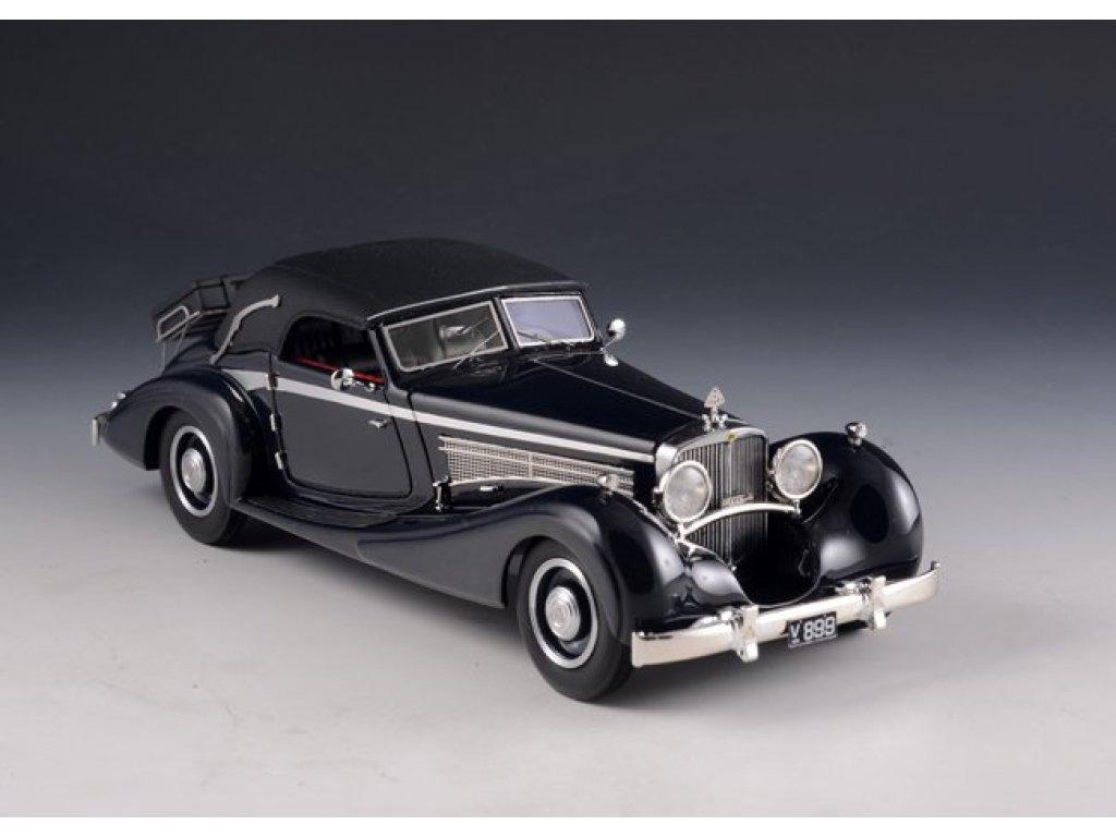1:43 GLM Maybach DS-8 Zeppelin Cabriolet (закрытый) 1933 черный