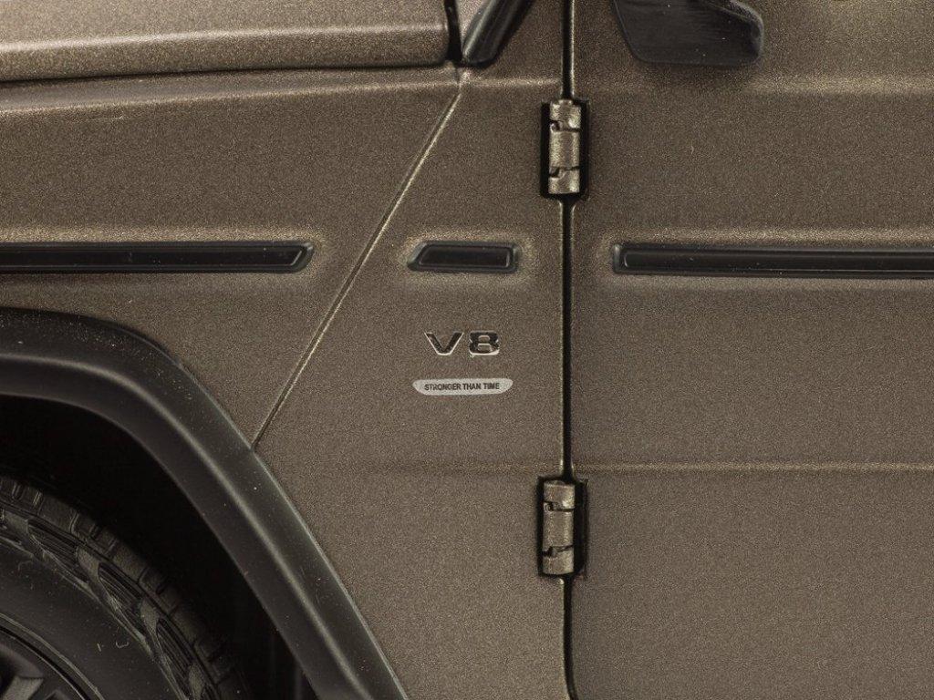 1:18 Minichamps Mercedes-Benz G500 2019 Stronger Than Time. Cпециальное издание к 40-летию W463 G-class. Матовый серый магно.