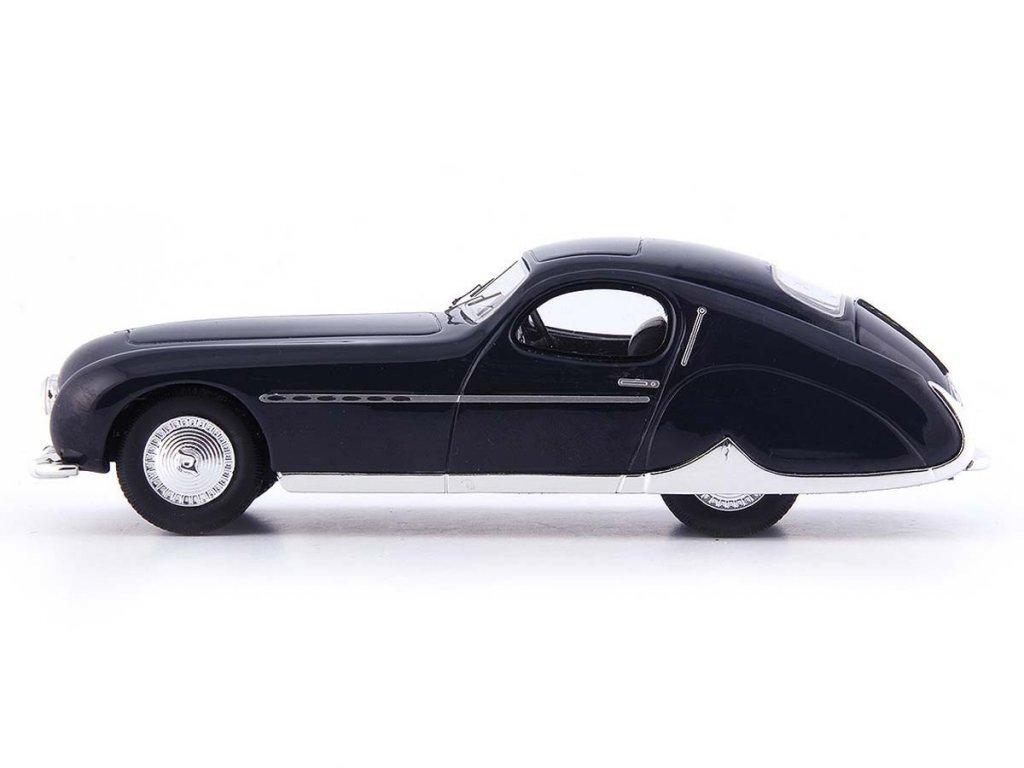 1:43 AutoCult Talbot Lago T26 Grand Sport Coupe Figoni & Falaschi 1949 черынй
