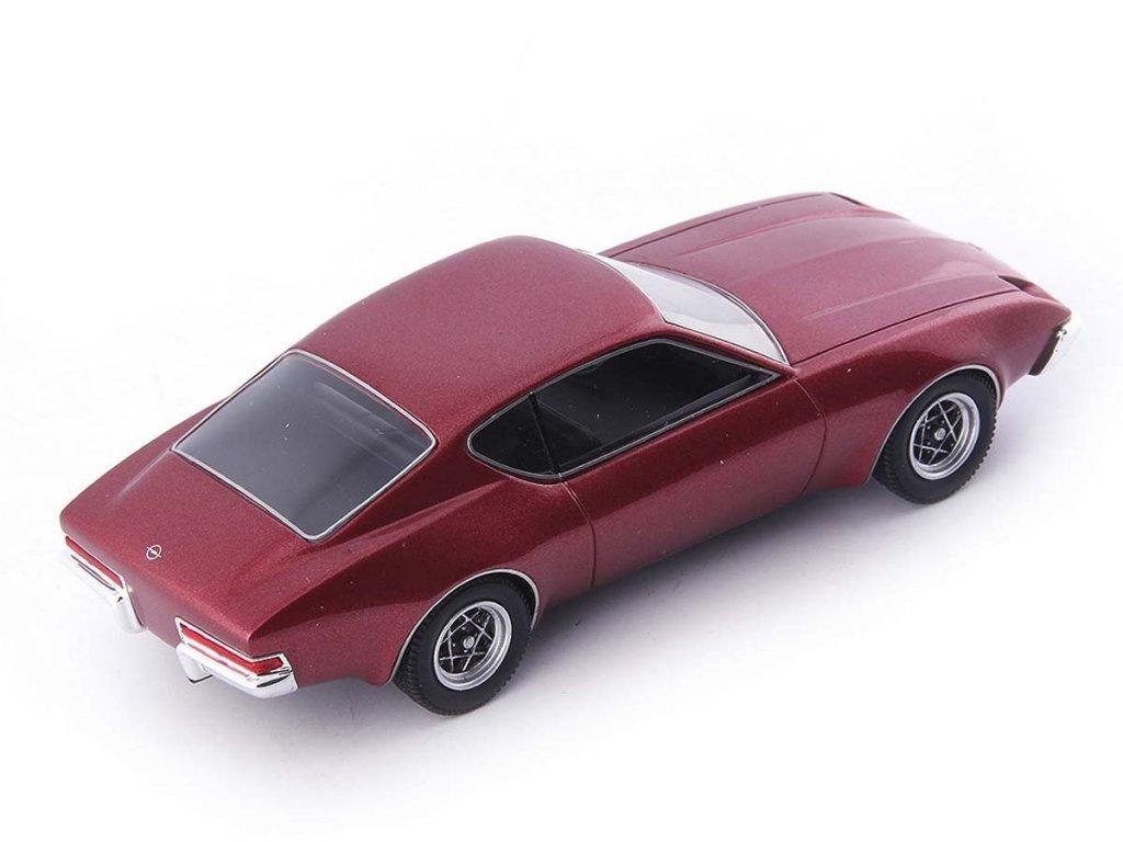 1:43 AutoCult Opel Prototyp III красный