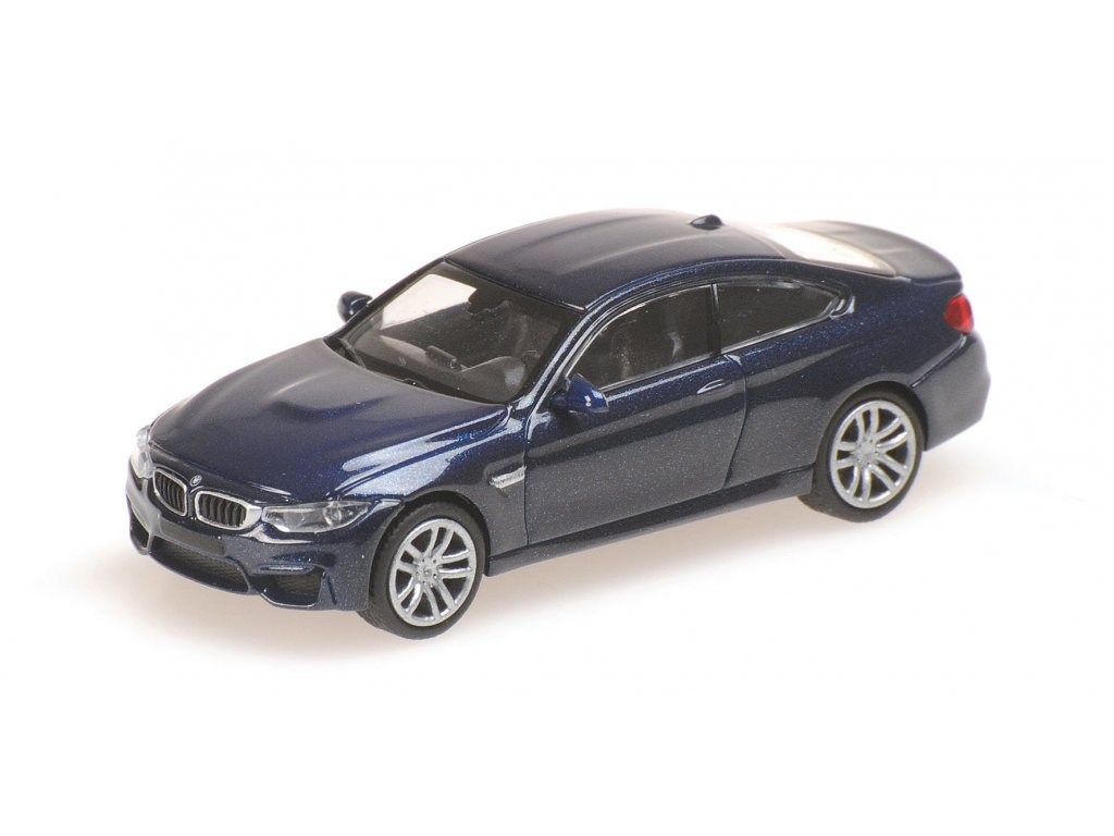 1:87 Minichamps BMW M4 F82 2015 синий